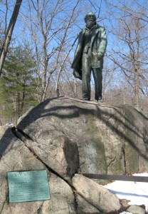Statue of Walt Whitman