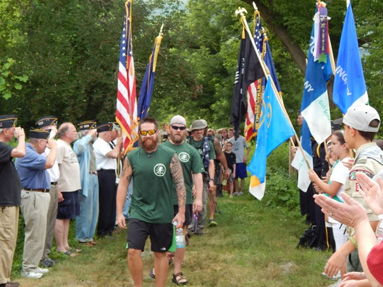 WarriorHike_colorguard
