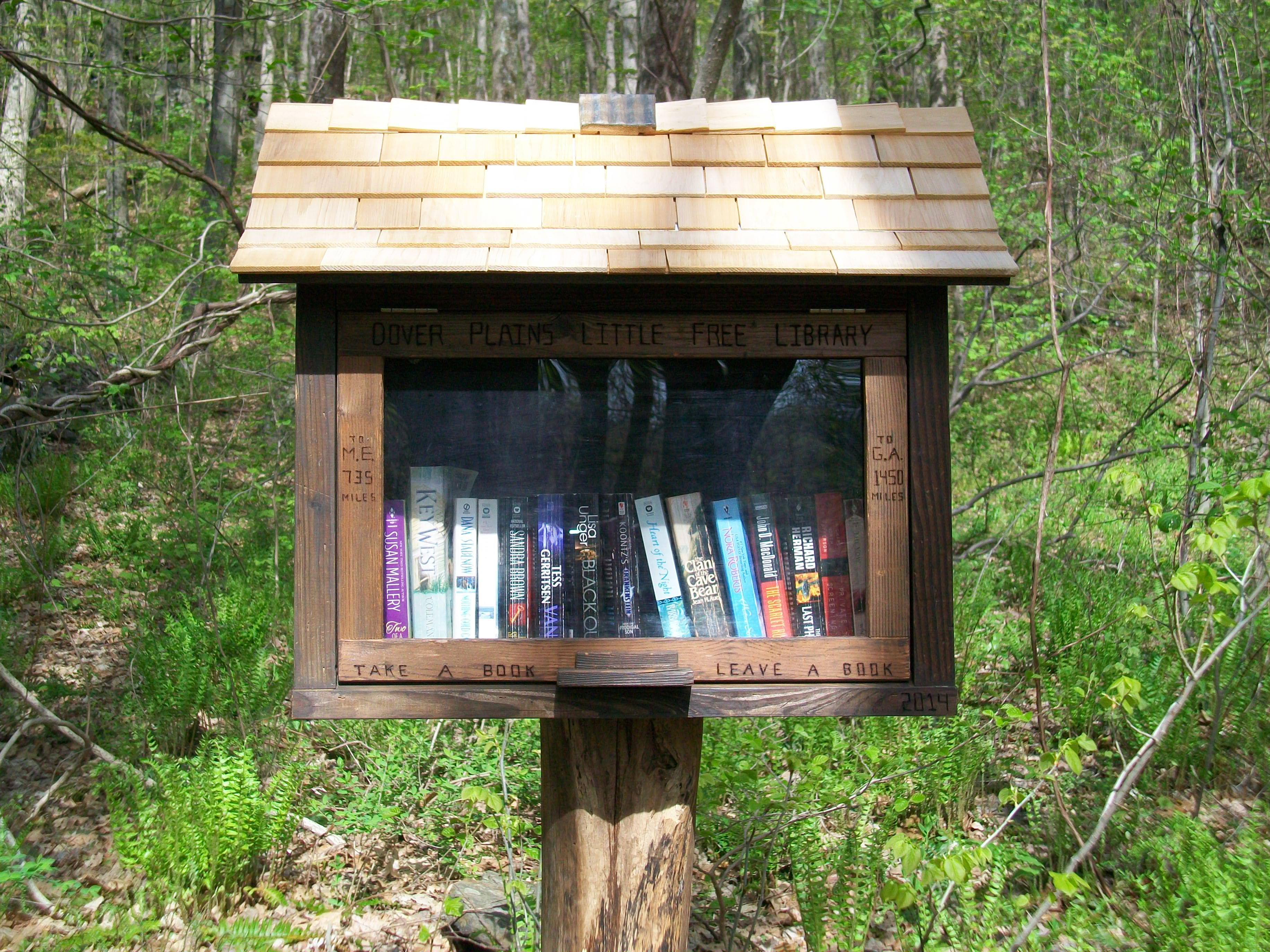 Appalachian Trail Gets Its Own Library System In Harlem Valley - Appalachian trail shelters map