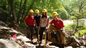 Members of the Taconic Trail Crew