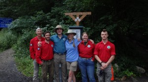 Taconic Crew members and Breakneck stewards