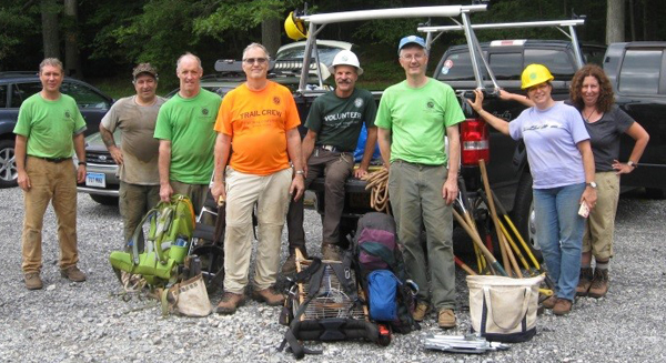 Long Distance Trails Crew members