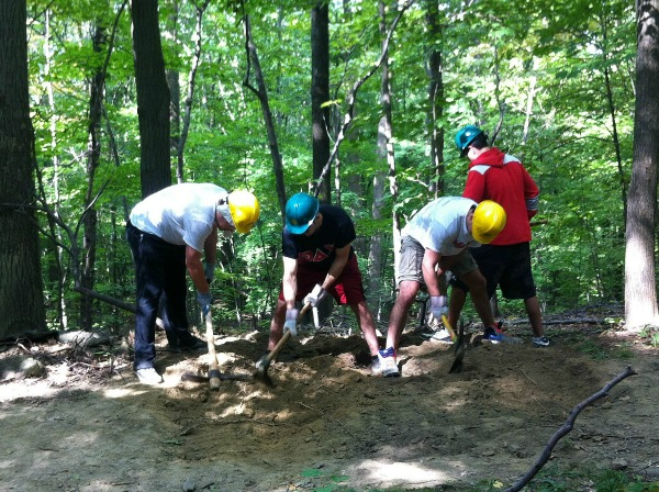 Marist Volunteers Taconic Wilkinson Trail