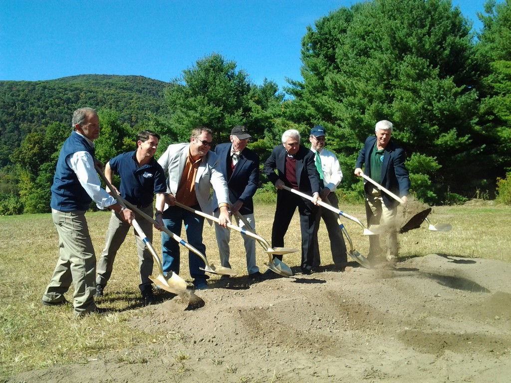 Catskill Interpretive Center Groundbreaking