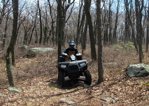 Illegal ATV Activity on Trails