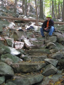 LDTC Appalachian Trail Relocation, Steps Complete