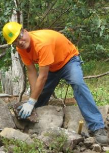 Daniel Yu Bear Mountain Volunteer