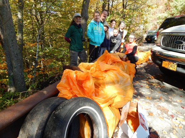 CCC Kaaterskill litter cleanup