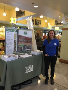 Jenn at Whole Foods' 5% day!