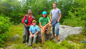 The crew from Shawangunk Ridge Trail