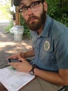 Trail Steward Brian Tragno
