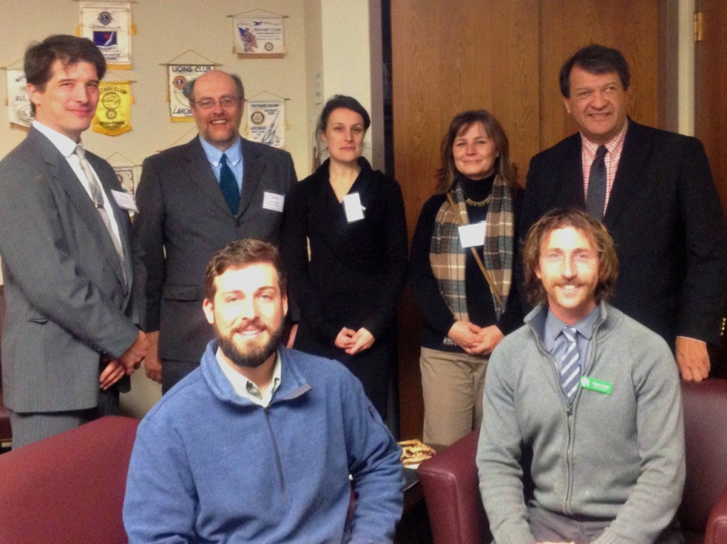 Trail Conference staff and volunteers met with New York State representatives to advocate for open space during the EPF Lobby Day.