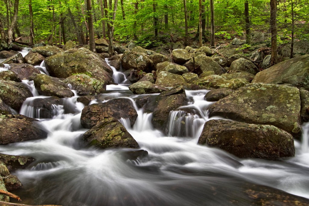 Harriman water flow, by Michael Malandra