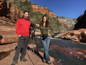 "Michael Malandra and Susan Magnano, owners of Photour Adventures, hosts workshops that ""put the adventure back in photography."""