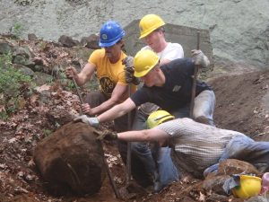 2016 Trail Conference Conservation Corps Megalithic Crew