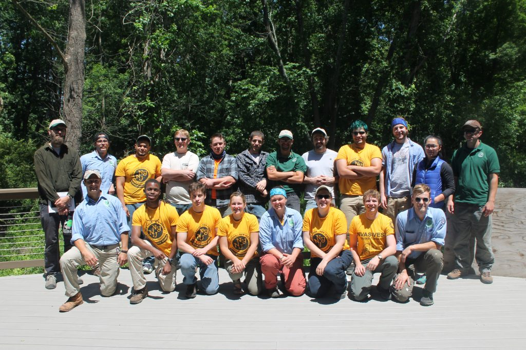 The Trail Conference Conservation Corps Class of 2016