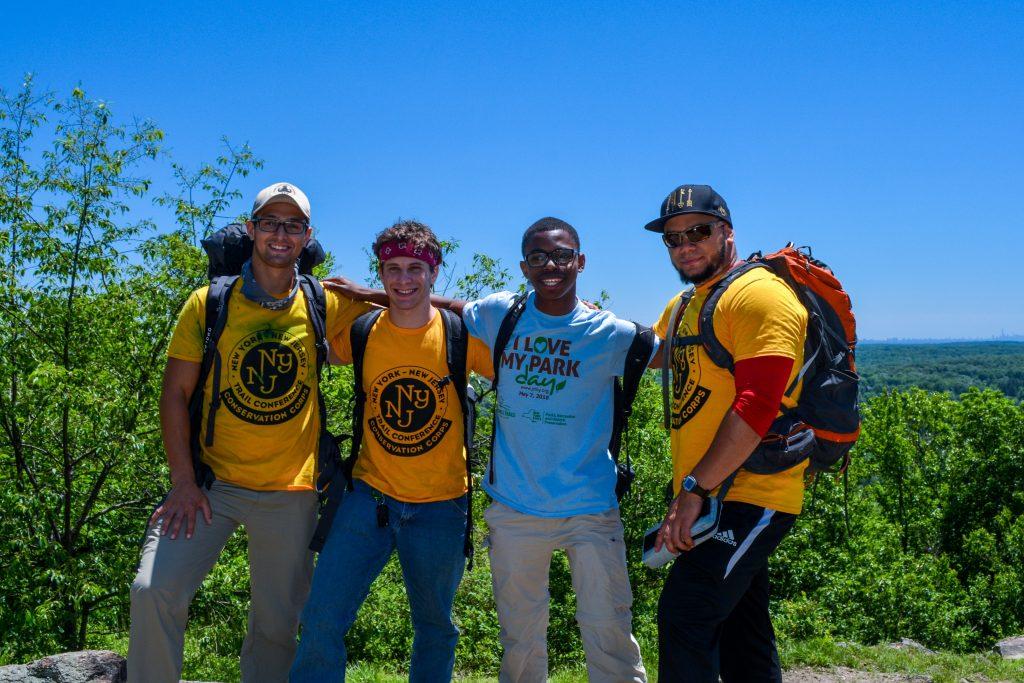 2016 Highlands Crew, from left: Victor Fernandez, Zach Cylinder, Evan Woods, and Eduardo Gil.